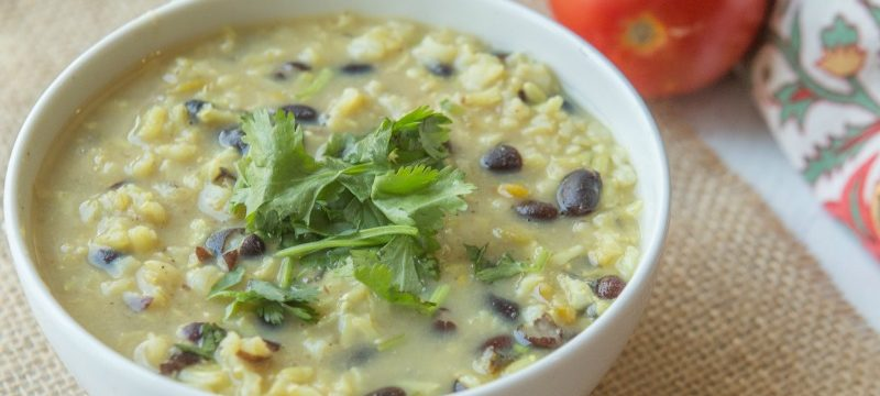 Green Chili and Rice Soup